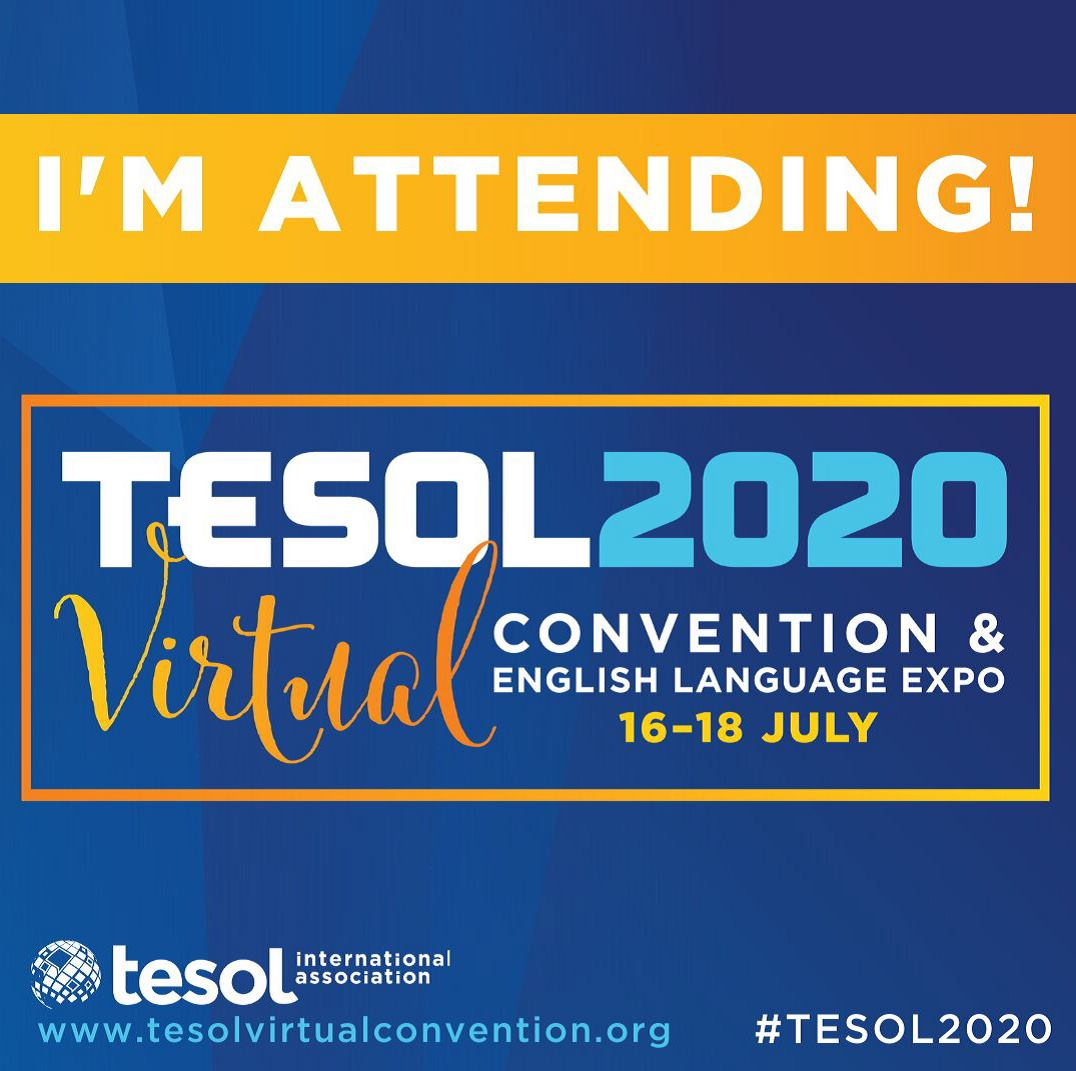TESOL 2020 - Where the world comes together!