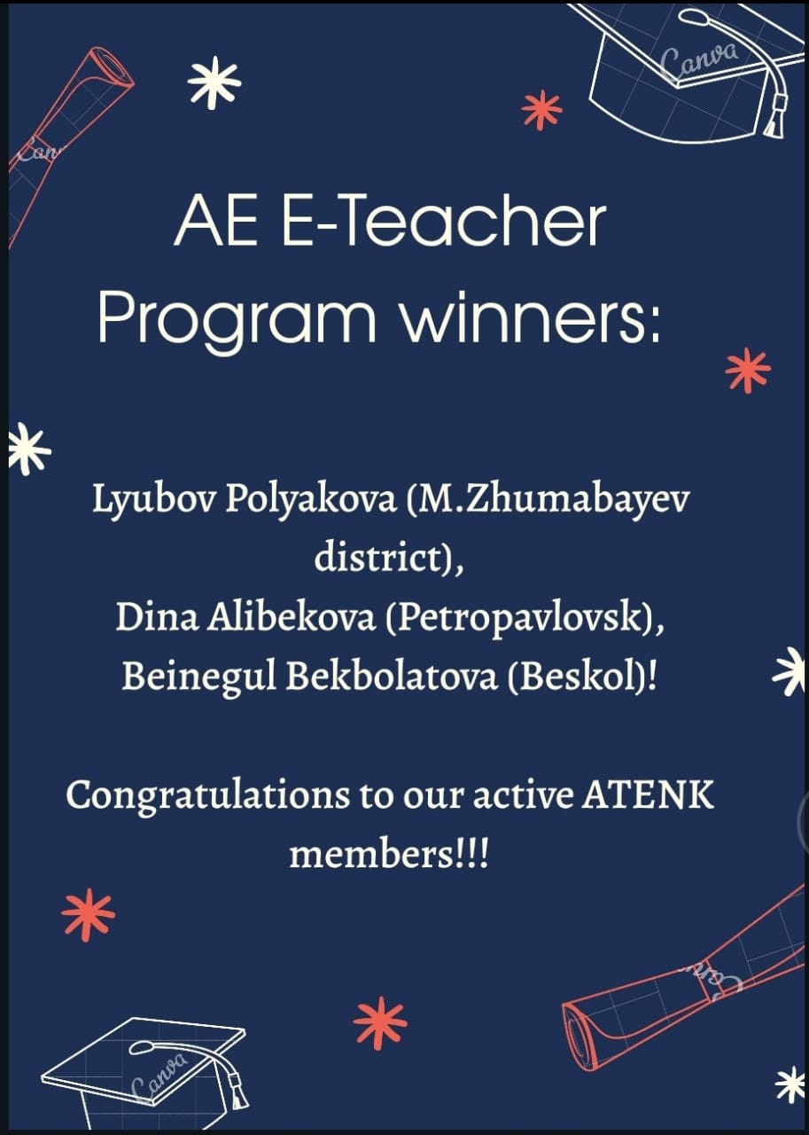 💥Great news from our ATENK members!💥